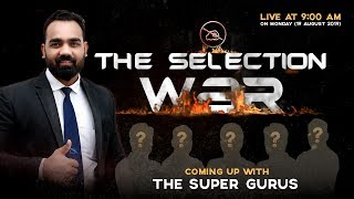 Download The Selection War | Coming Up With The Super Guru's | देखना ना भूलें सुबह 9:00 बज़े Video
