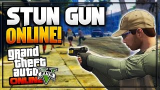 Download GTA 5 Online - How to get ″STUN GUN IN ONLINE″ Glitch *Patch 1.36* (Obtain Rare Weapons) Video