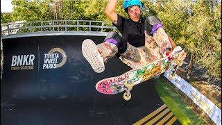 Download Toyota World First Hybrid Skate Park 2019 BMX |Skateboarding |WCMX WheelChair Moto Cross Skatepark Video