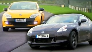 Download Can A Hot Hatch Beat A Nissan 370Z? - Fifth Gear Video