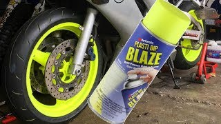 Download plasti dip motorcycle wheels?? Video