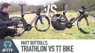 Download Triathlon Vs. TT Bike | Matt Bottrill's Giant Trinity Bike Setups Video