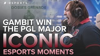 Download ICONIC Esports Moments: Dosia's Grenade | Gambit Win the PGL Major (CS:GO) Video