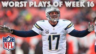 Download Worst Plays of Christmas Weekend 🎄   NFL Week 16 Highlights Video