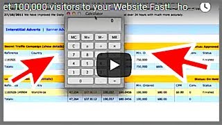 Download Get 100,000 visitors to your Website Fast! - how to drive traffic to your website 2019! Video