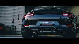 Download 2017 Porsche (911) 991.2 Carrera S Cabriolet w/ Armytrix Valvetronic Exhaust - Loud Revs Video