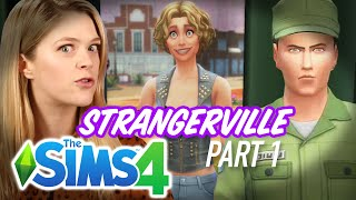 Download Single Girl Breaks Into A Lab in The Sims 4 Strangerville - Part 1 Video