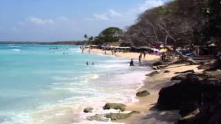 Download Playa Blanca, Cartagena, Colombia Video