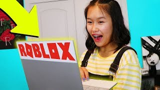 Download SURPRISING SISTER WITH A ROBLOX LAPTOP!! Video