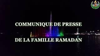 Download Communiqué de presse de la famille RAMADAN ! Video