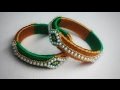 Download Silk thread bangles/Silk thread new design bangles/jewellery making tutorial Video