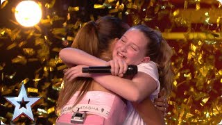 Download Ten-year-old Giorgia gets Alesha's GOLDEN BUZZER with MIND-BLOWING vocals! | Auditions | BGT 2019 Video