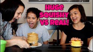Download HUGE SQUISHY VS REAL EAT IT OR WEAR IT Video