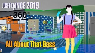 Download Just Dance 2019: All About That Bass - Meghan Trainor [360°] Video