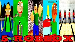 Download 5 ROBLOX in Baldi's Basics in Education and Learning Video