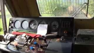 Download Locoride In KONKAN RAILWAY : Inside WDP-4B Diesel Locomotive Of Indian Railways : Ride In EMDGT46PAC Video