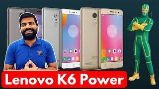 Download Lenovo K6 Power - The Kickass Power? My Opinions Video