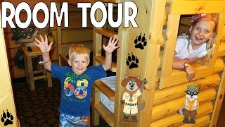 Download Family Fun Pack Kid Cabin Room Tour at Great Wolf Lodge Video