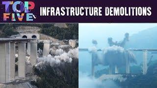 Download Top 5 Incredible Infrastructure Demolitions Video