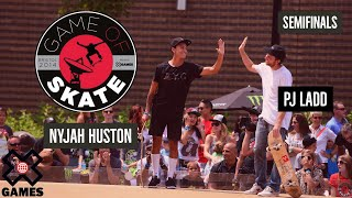 Download PJ Ladd vs. Nyjah Huston: GAME OF SKATE SEMIFINALS | World of X Games Video