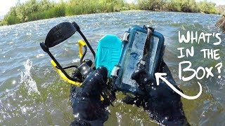Download I Found a Sealed Waterproof Box Underwater in the River! (Returned to Owner - With Surprise!) Video