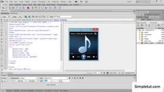 Download How to add a HTML5 MP3 Player to your website - Simple Dreamweaver Tutorial Video