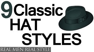 Download 9 Classic Hat Style For Men - Why Wear Mens Hats - How To Buy Men's Headwear Video