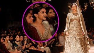 Download Deepika Padukone is Literally Awestruck by Kareena Kapoor Khan at the Lakme Fashion Week 2016 Video