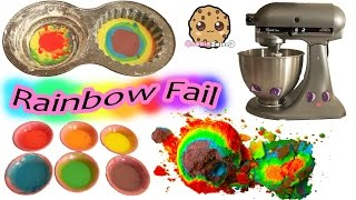 Download Giant Rainbow Cupcake Fail - Baking My Little Pony Rainbow Dash Birthday Cake Video