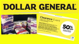 Download Dollar General Clearance Event ends 8-25 What did I get Video