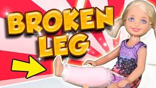 Download Barbie - Chelsea's Broken Leg | Ep.105 Video