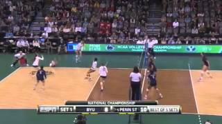 Download PENN STATE vs BYU NCAA 2014 VOLLEYBALL FINALS [Set 1] Video