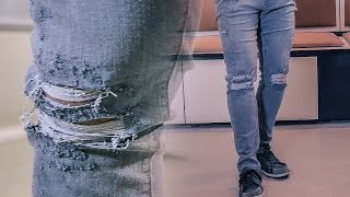 Download Distressed Jeans DIY /YEEZY Inspired Video