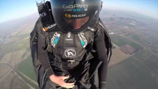 Download Jeb Corliss first jump back Video