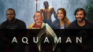 Download Aquaman EXTENDED Trailer Reaction Video