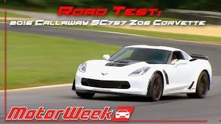 Download Road Test: 2016 Callaway SC757 Z06 Corvette - Abuse of Power Video