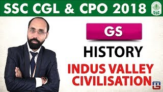 Download History | Indus Valley Civilisation | General Studies | SSC CGL | CPO 2018 Video