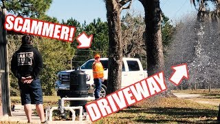 Download ″LEFTOVER ASPHALT″ SCAM! SCAMMERS CAUGHT ON CAMERA!! They SCREWED US! Video