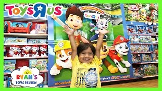 Download TOY HUNT at Toys R Us RYAN TOYSREVIEW Paw Patrol Power Wheels Disney Cars Peppa Pig Blaze Kids Toys Video