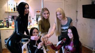 Download A latex party in Wrapa's House Video