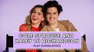 Download Cole Sprouse and Haley Lu Richardson Talk Love Languages, Five Feet Apart, and More | Superlatives Video