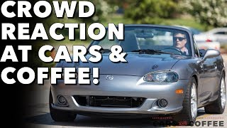 Download People react to my LS3 Miata at Cars & Coffee Video