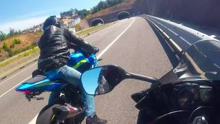 Download Suzuki GSXR-1000R 2017 Vs Suzuki GSXR-1000 2005 K5 Video