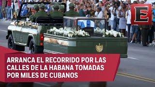 Download ÚLTIMA HORA: Cenizas de Fidel Castro emprenden recorrido por Cuba Video