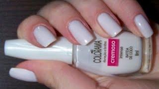 Download como esmaltar as unhas de branco sem manchar Video