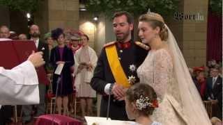 Download Ils se sont dit «Oui !» - le mariage religieux de Guillaume et Stéphanie Video