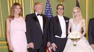 Download Trump attends Treasury Secretary Mnuchin's wedding Video