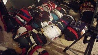 Download My Hat Collection - Snapbacks, Fitteds, Beanies, Customs, etc. [ProfessorSnapp] Video