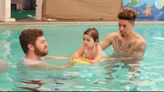 Download BABY'S FIRST SWIM CLASS!!! Video