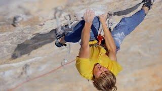 Download Alex Megos Climbs 'Van De Panique' (8c/5.14b) In The Pouring Rain | Epic Climber, Ep. 4 Video